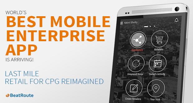 World's Best Enterprise Mobile App isarriving…